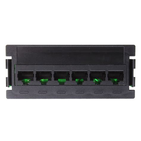 TE Connectivity AMP 1479700-1 Netconnect 6-Port CAT5E Snap-In Panel Mount Module
