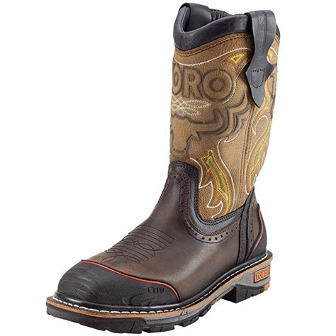 "TORO Men's TRC3P 10"" Steel-Toe Work Boot"