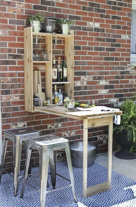 Table Bar Design Diy Projects