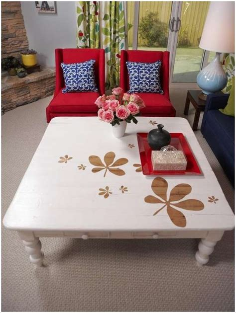 Table Designs Painted DIY