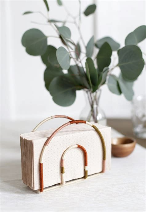 Table Napkin Holder Diy Projects