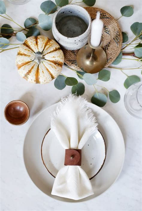 Table Napkin Rings Diy