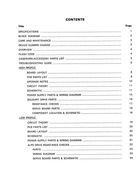 Table Of Contents Dissertation Apa