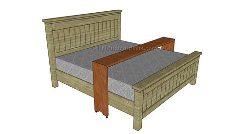Table Over Bed Diy Plans