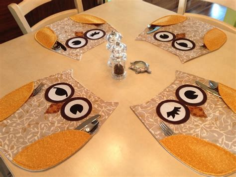 Table Placemats Diy
