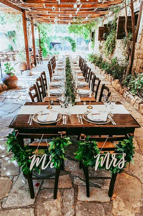 Table Plan Ideas For Small Weddings