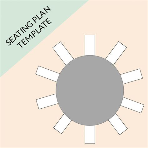 Table Plan Template For 10