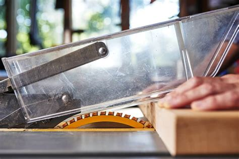 Table Saw Blade Guard Diy