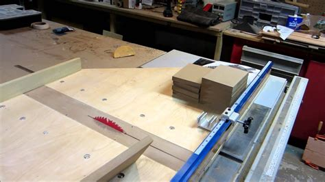 Table Saw Crosscut Sled Diy