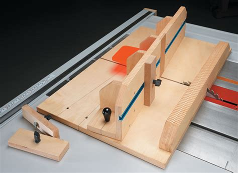 Table Saw Dovetail Jig Plan
