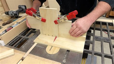 Table Saw Dovetail Jig Youtube