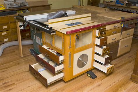 Table Saw Extension Table Plans With Drawers