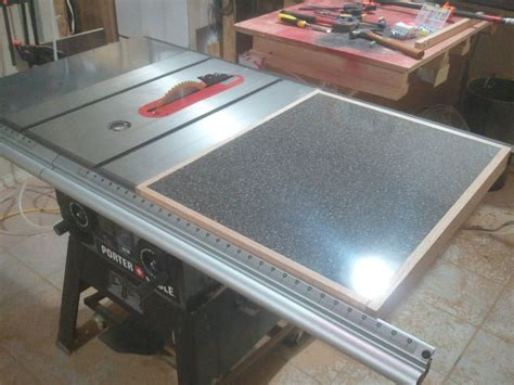 Table Saw Extension Wing Plans