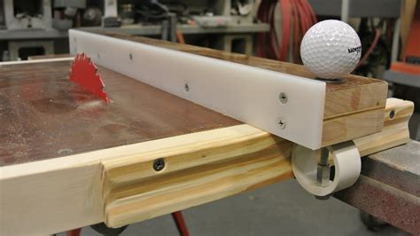 Table Saw Fences Diy Videos