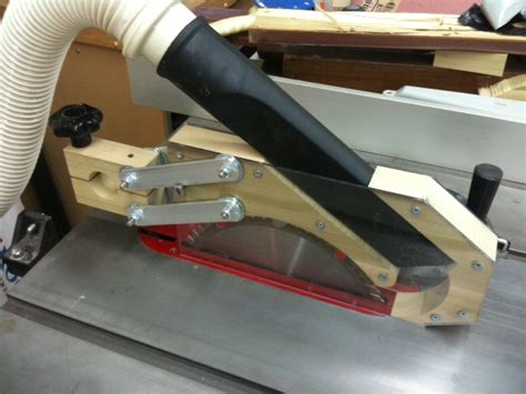 Table Saw Guard Dust Collector