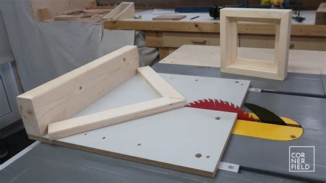 Table Saw Miter Sled Diy Adjustable Standing