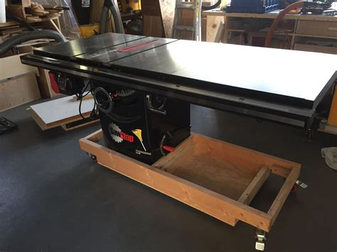 Table Saw Mobile Base Diy Network