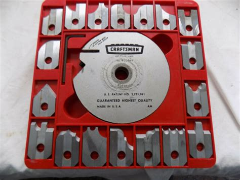 Table Saw Molding Blade Sets