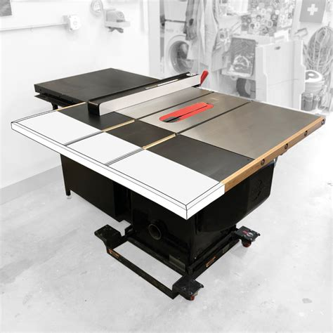Table Saw Outfeed Table Plans For Sawstop