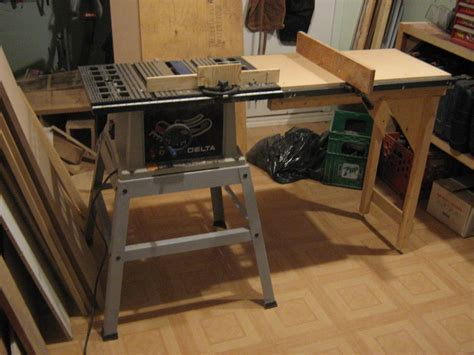 Table Saw Side Extension Plans For Front To Back