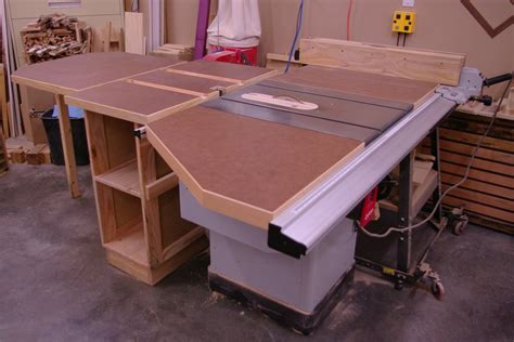 Table Saw Side Extension Plans For Houses