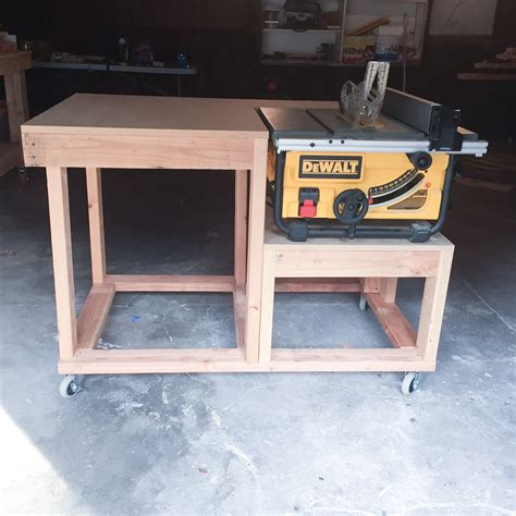 Table Saw Side Extensions Plans