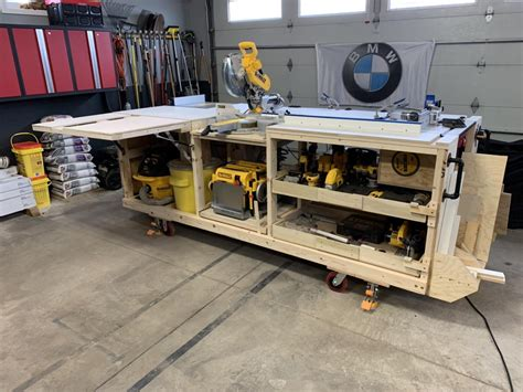 Table Saw Workbench Plans Pdf