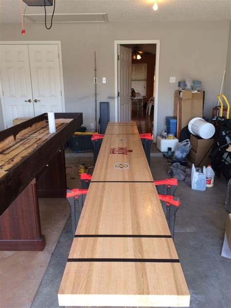 Table Shuffleboard Diy Plans