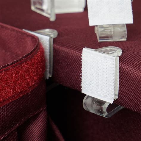 Table Skirt Clips Diy Videos