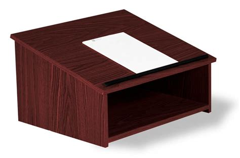 Table Top Lectern Plans