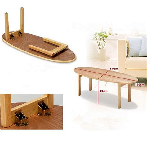 Table With Folding Legs Diy
