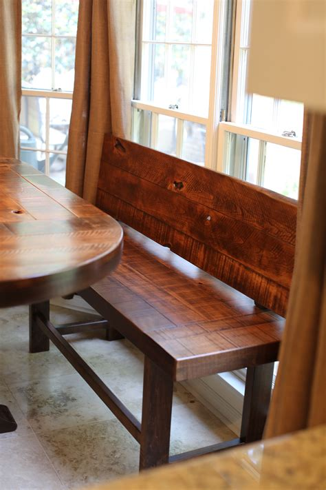 Table-Bench-With-Back-Plans