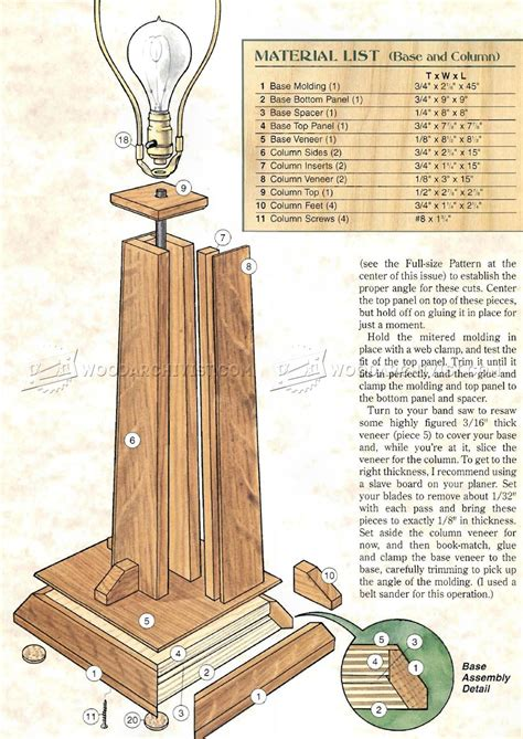 Table-Lamp-Plans-Wood