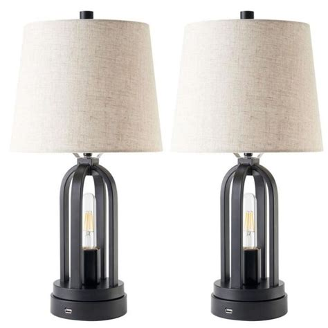 Table-Lamp-With-Usb-Port-Diy