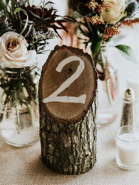 Table-Numbers-Diy-Wooden-Stump