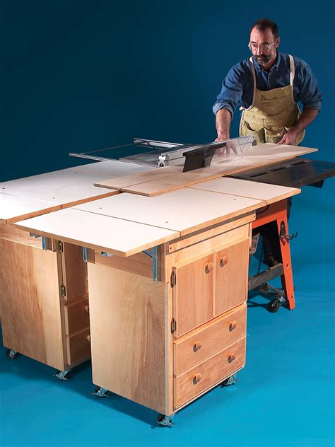 Table-Saw-Mobile-Outfeed-Table-Plans