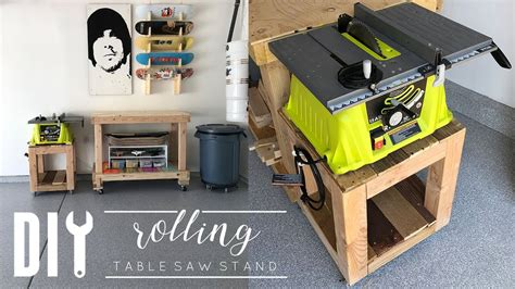 Table-Saw-Rolling-Stand-Plans
