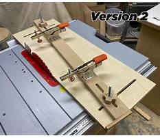 Best Table saw taper jig long cuts.aspx