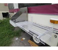 Best Table shelves for tent trailers