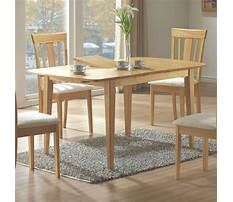 Best Table with extension leaves