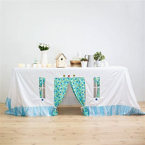 Tablecloth-Playhouse-Diy
