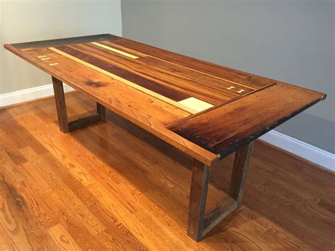Tables Made From Reclaimed Barn Wood Plans