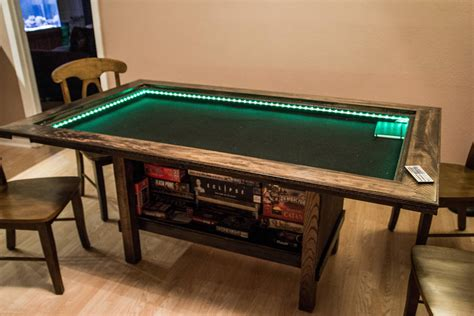 Tabletop Gaming Table Diy With Shelf