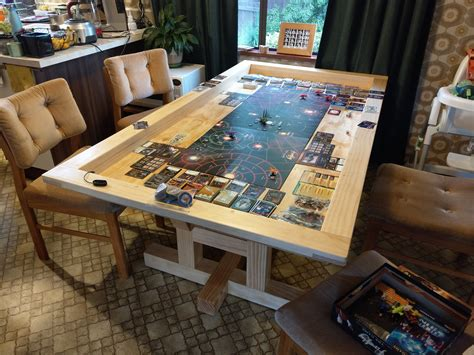 Tabletop Gaming Table Plans