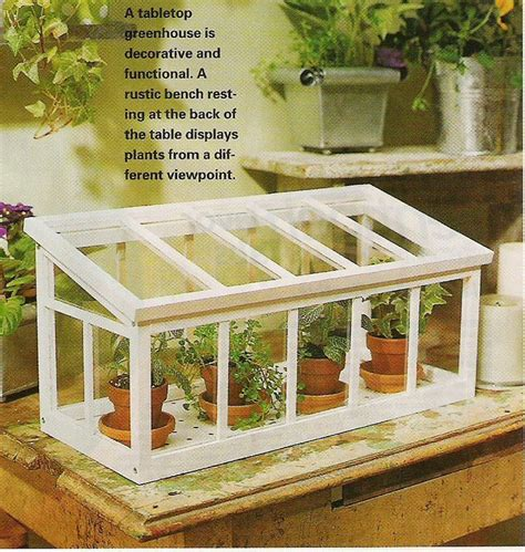 Tabletop-Greenhouse-Plans