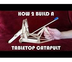 Best Tabletop catapult