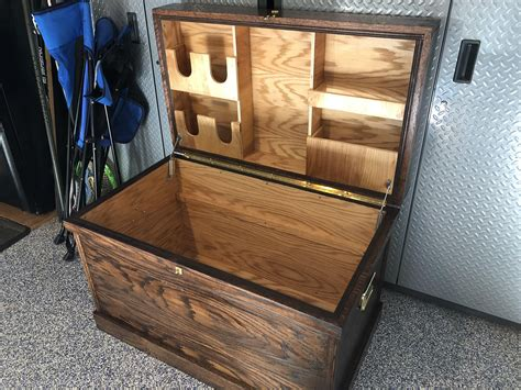 Tack Trunk Woodworking Plans