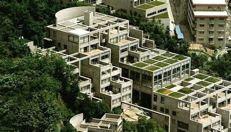 Tadao Ando Rokko Housing Plan