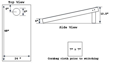 Tailgate Bean Bag Toss Plans To Build
