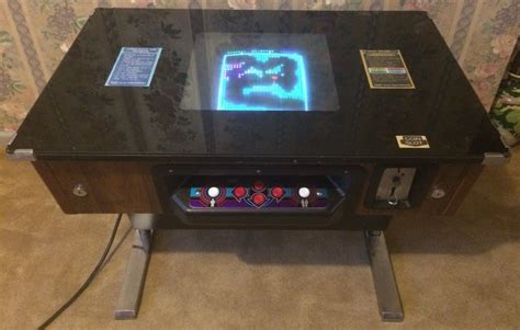 Taito Cocktail Cabinet Plans